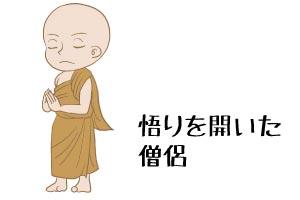 悟りを開いた僧侶 当たる無料前世占い