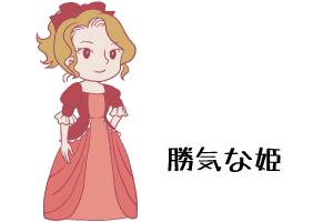 勝気な姫|当たる無料前世占い